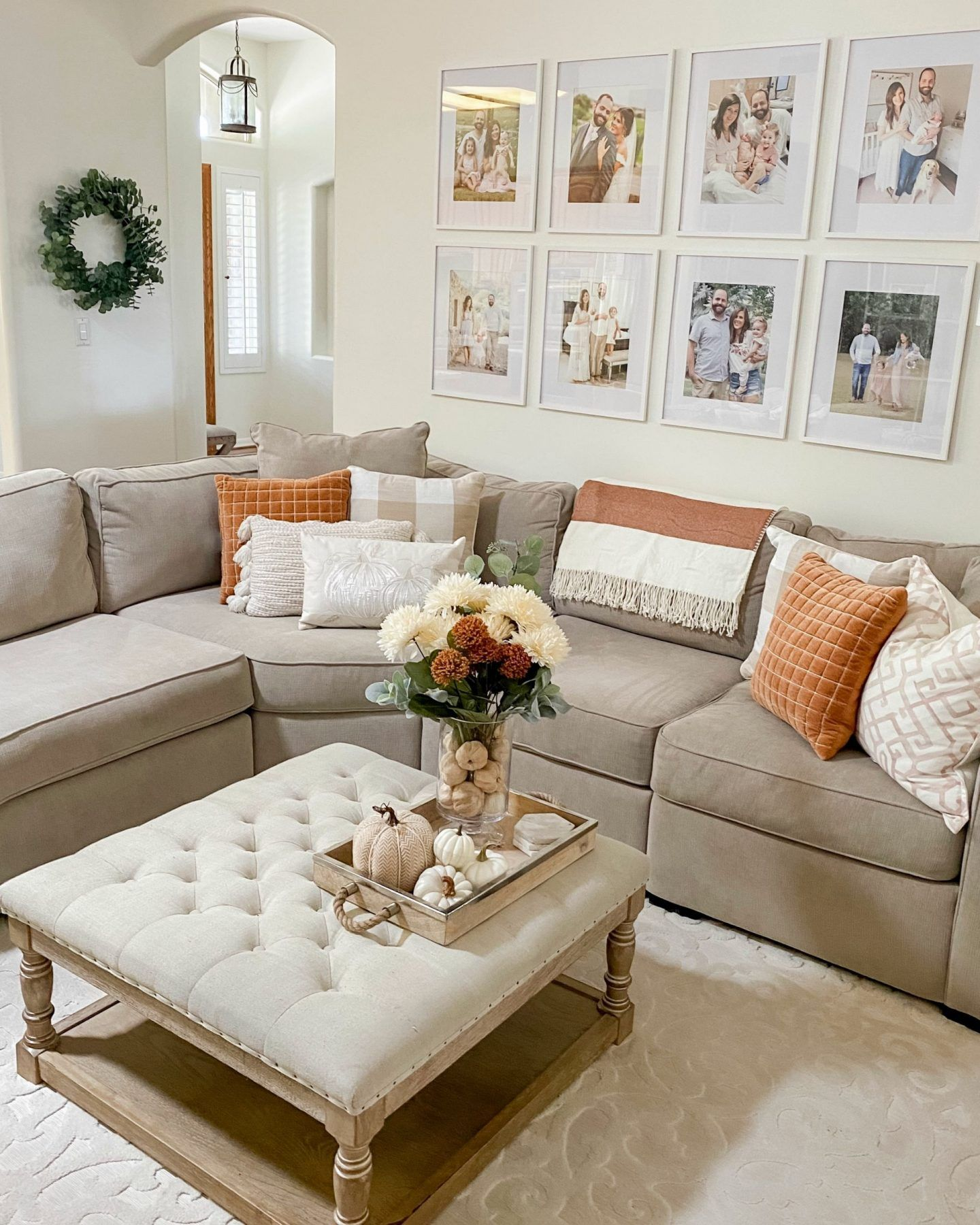 2020 Fall Decor Home Tour Living Room Hearth And Hand Target Summer Living Room Decor Spring Living Room Decor Spring Living Room Home decor living room images