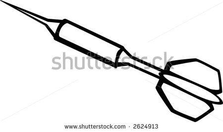 Dart Shutterstock Vector 2624913 Vector Clip Art Vector Art