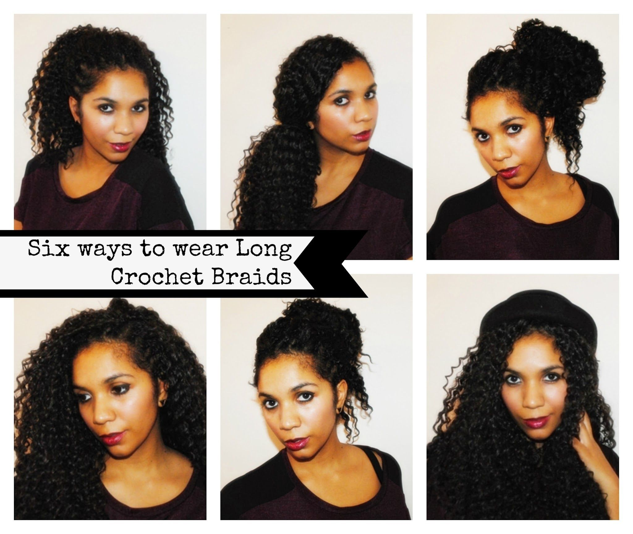 Little Likely Lads 6 Styles To Wear Long Crochet Braids Natural Hair Styles Long Crochet Braids Hair Styles