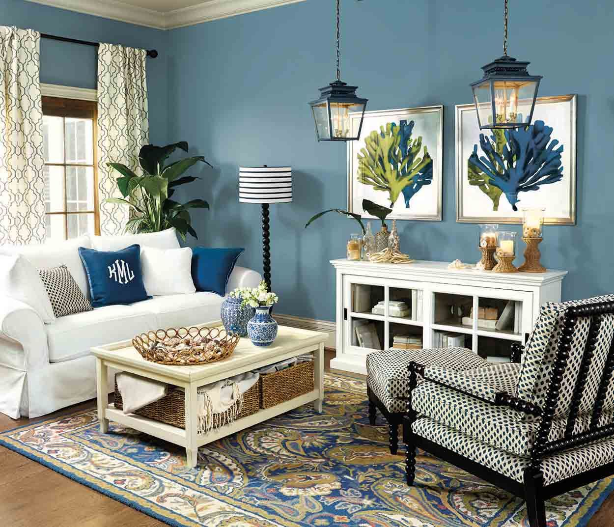 Living Rooms Ideas For Decorating Summer Living Room Blue Living Room Living Room Green