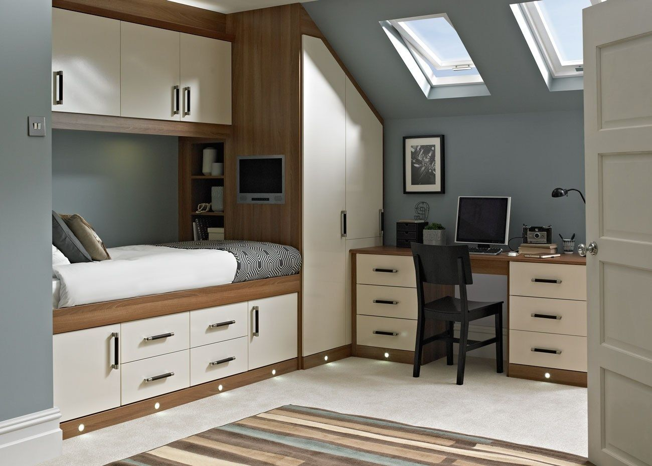 Box Room Wardrobe Espirit Cream Bedroom Fitted Bedrooms From Betta Living Bed