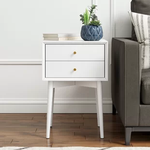 Nightstands Bedside Tables You Ll Love In 2019 Wayfair Mid Century Modern Side Table Mid Century Side Table Bedroom Night Stands