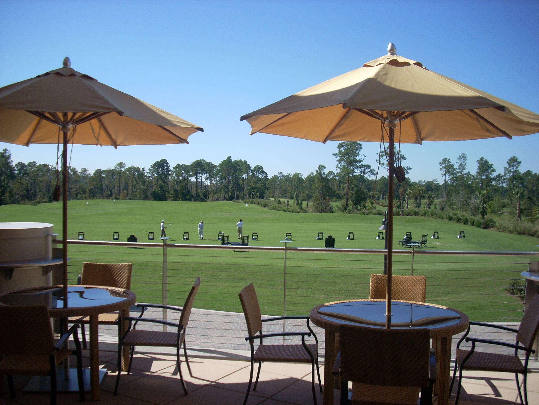 Waldorf-Astoria Orlando Clubhouse. View from the veranda ...