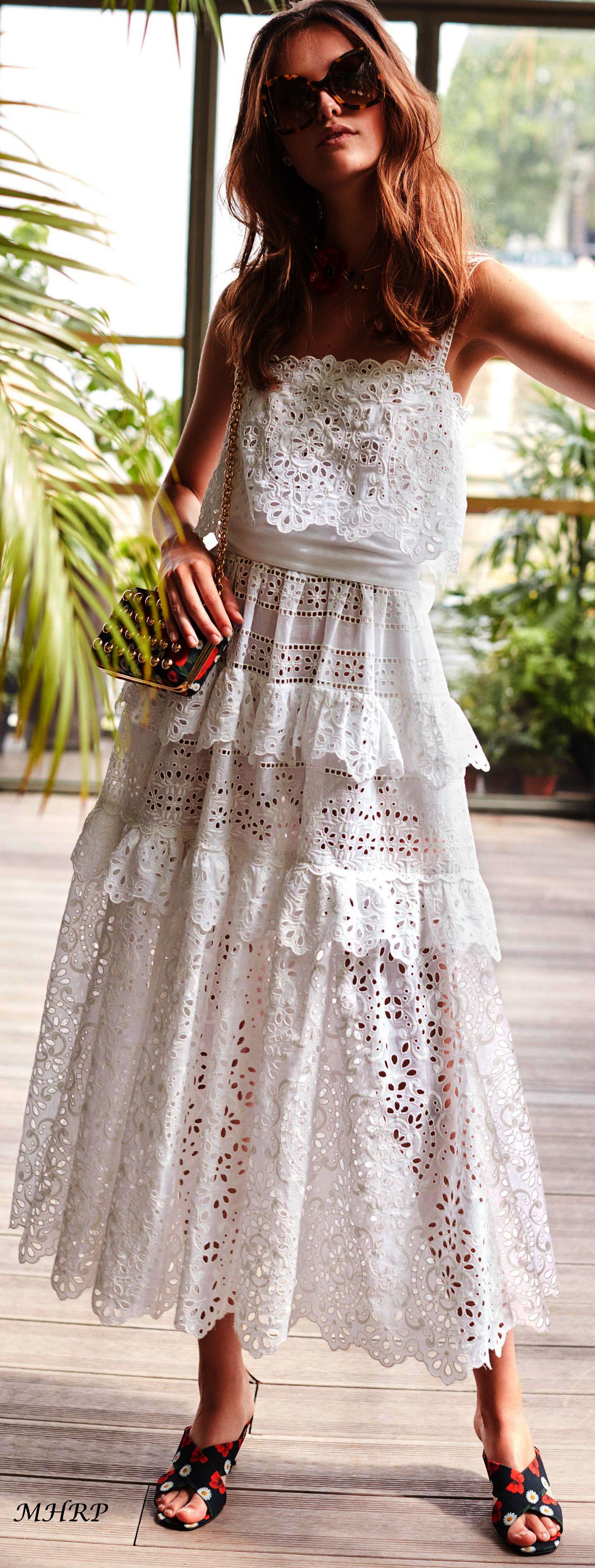 Elie Saab Vogue Resort 2019 Trendy Dresses Summer Fashion Summer Dresses [ 3822 x 1451 Pixel ]