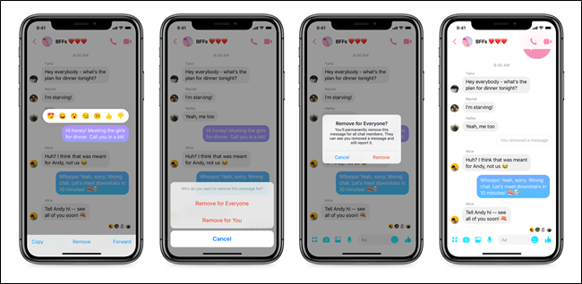 Here's How to Unsend Messages on Facebook Messenger