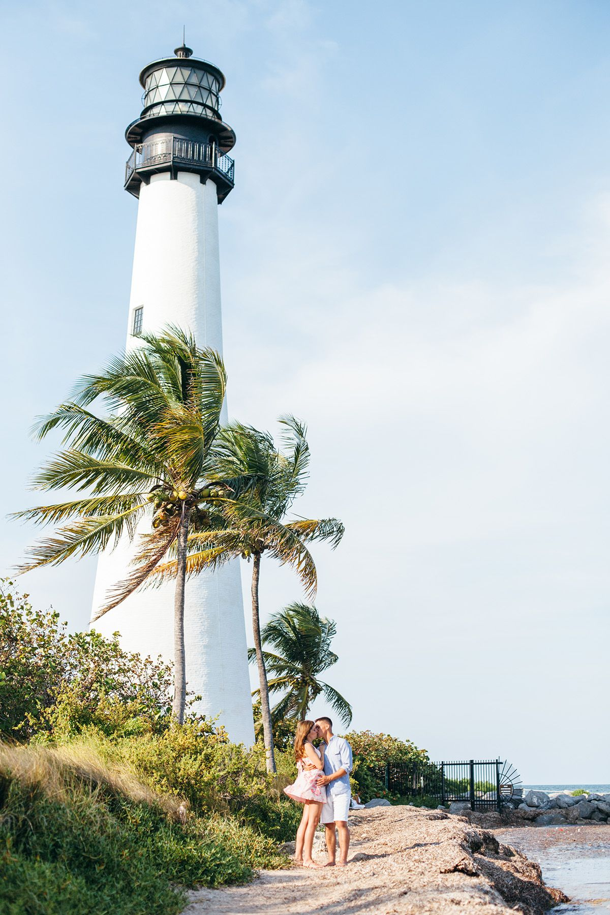 Key Biscayne Lighthouse Engagement Session Photo By Aleegleibermanphotography