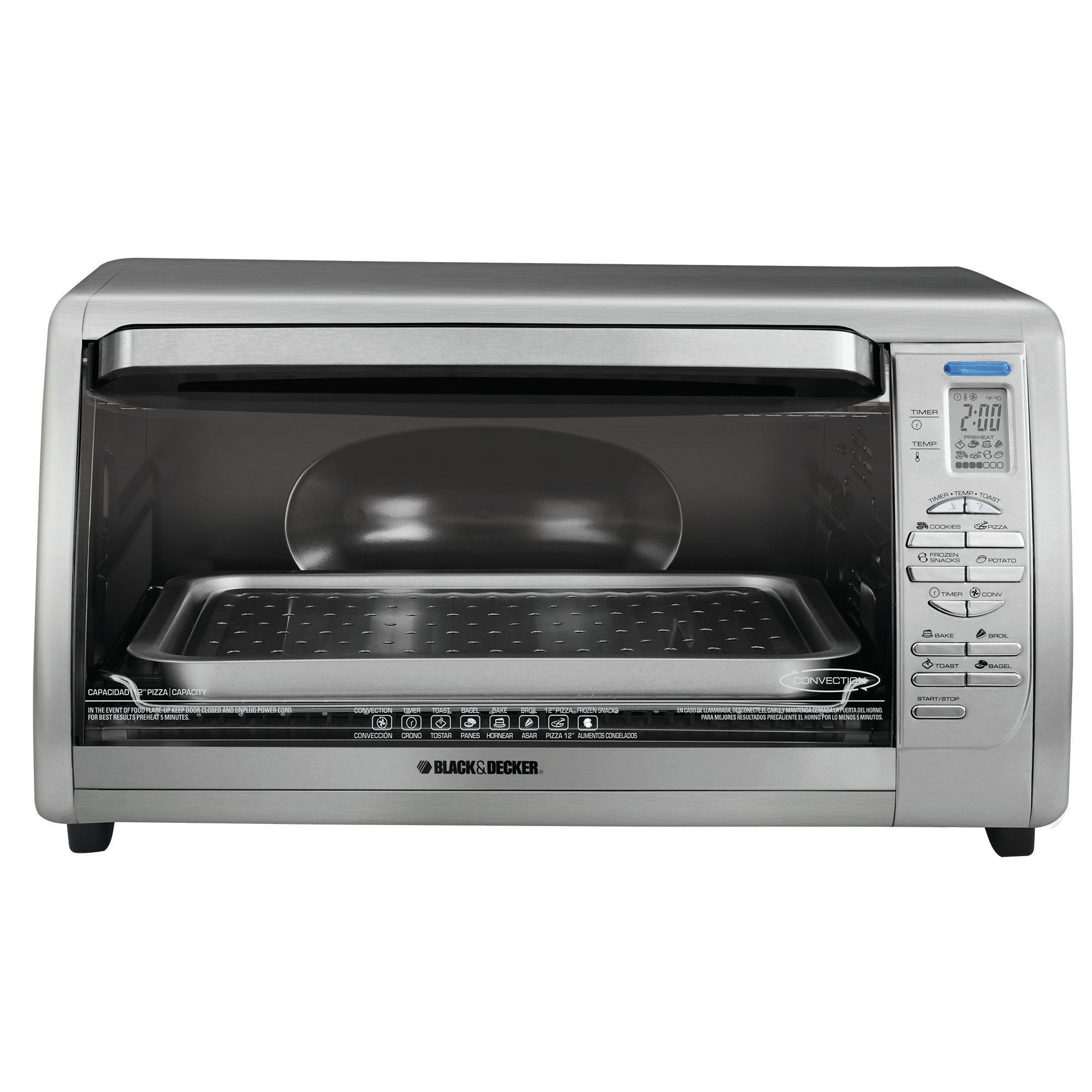 Digital Touchpad Toaster Oven Countertop Convection Oven