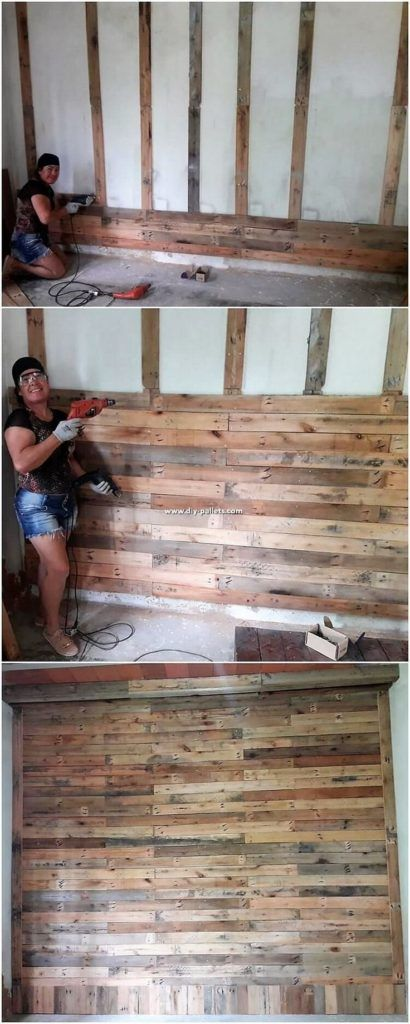 Diy Projects Made With Repurposed Wood Pallets Mobiliario Com