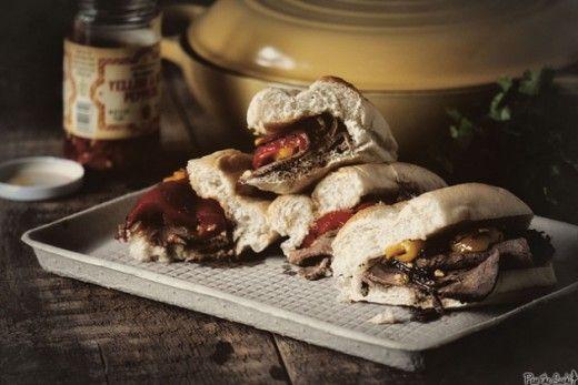 Chicago Italian Beef Sandwich Recipe