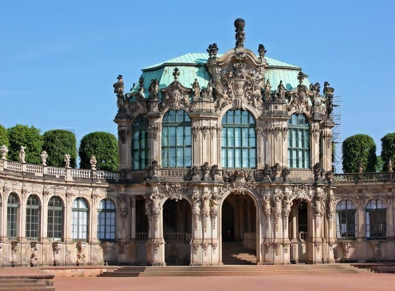 The Zwinger Is A Palace In Dresden Eastern Germany Built In Rococo Style Architecture Rococo Architecture Exterior