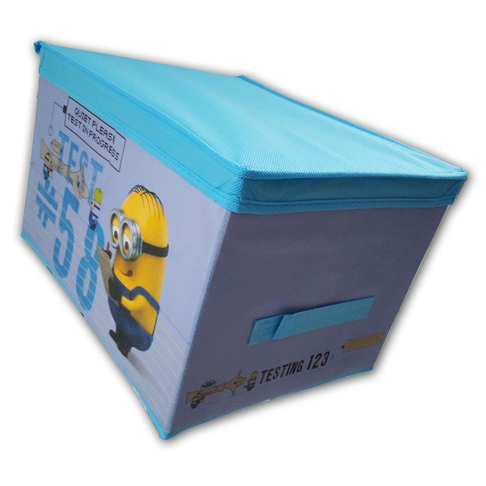 Minions Deko Box Eckig Aus Stoff Spielzeug Kiste