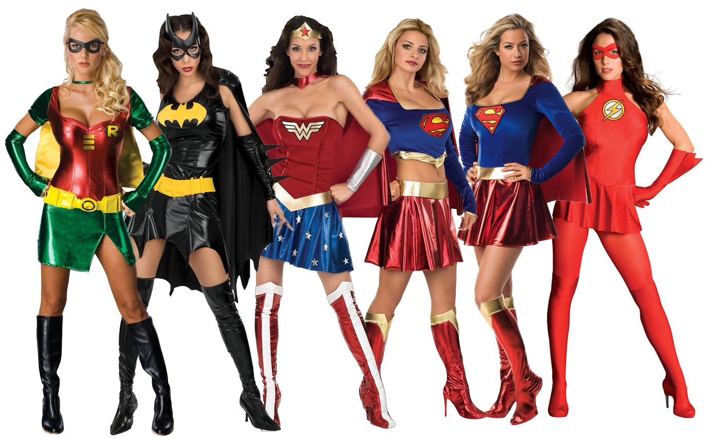 Sexy Superhero Costumes Womens Comic Book Movie Ladies Adult Fancy Dress Outfit | eBay  sc 1 st  Pinterest : superhero costumes womens  - Germanpascual.Com