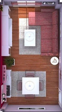 alfombras salon comedor pequeño - Buscar con Google Decoració d