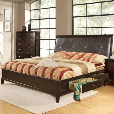 Hazelwood Home Storage Platform Bed | beds | Pinterest