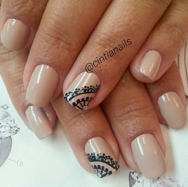 Simple nails | prom | Pinterest | Manicuras y Maquillaje