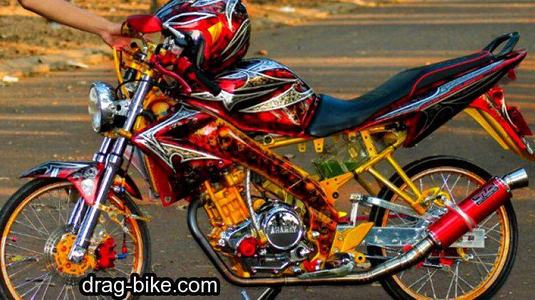 Modifikasi Vixion Pelek Jari Jari Motor Gambar Dan Model