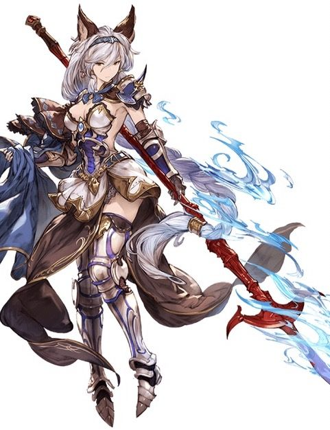 Granblue Fantasy Heruesu Anime Warrior Anime Fantasy Anime