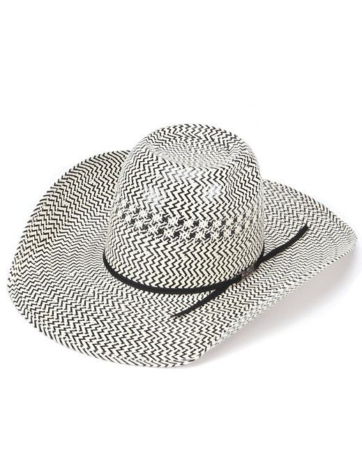 American Hat Co American Straw Cool Hand Luke Crease Hat Black