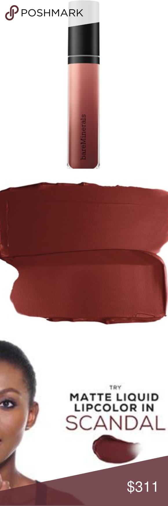 Photo of Bare minerals gen nude scandal ma liquid lipstick GEN NUDE®MATTE LIQUID LIPST…