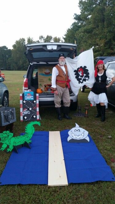 Trunk or treat 2026 pirate trunk or treat Pinterest Halloween - trunk halloween decorating ideas