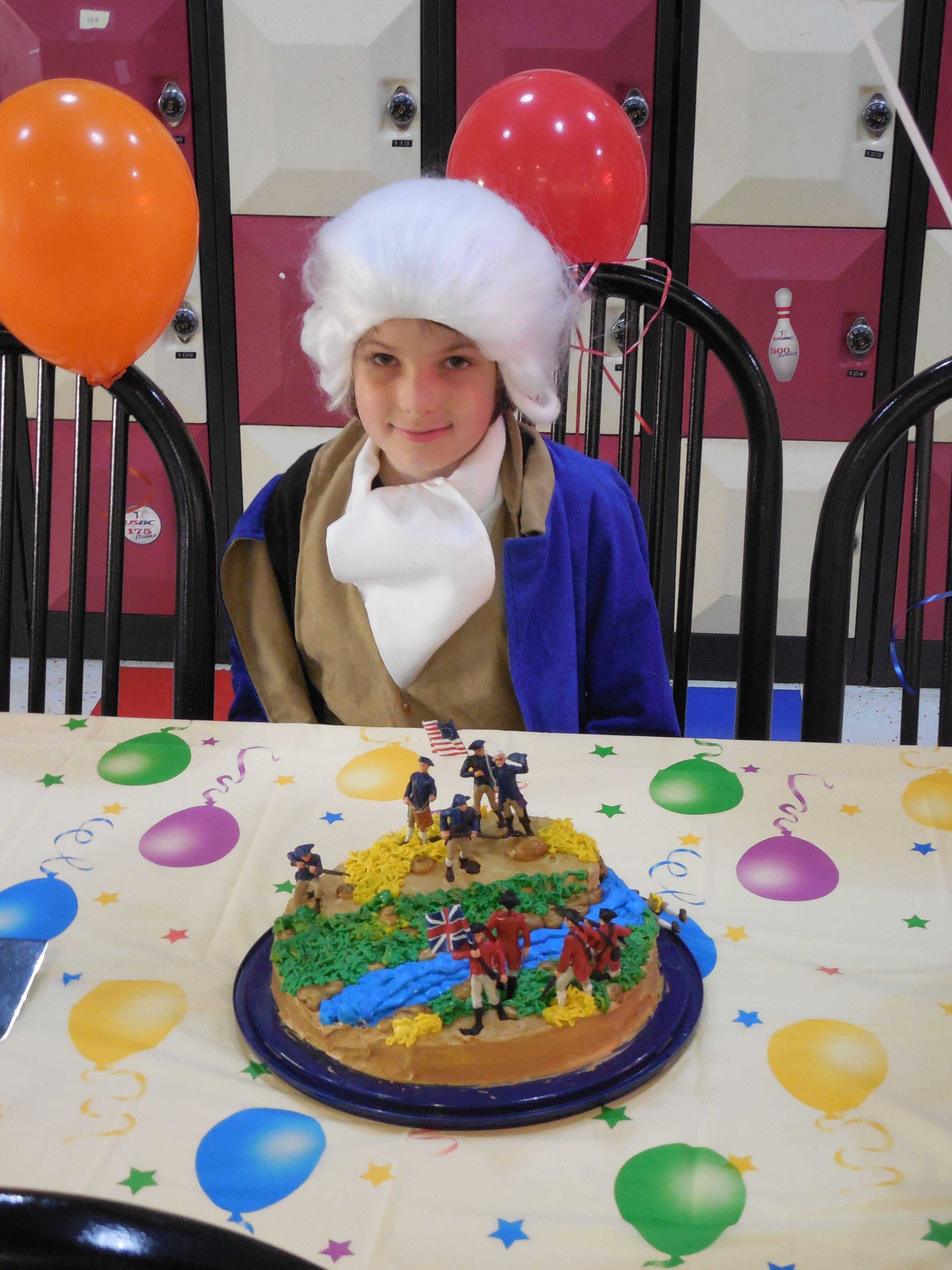 Revolutionary War Cake