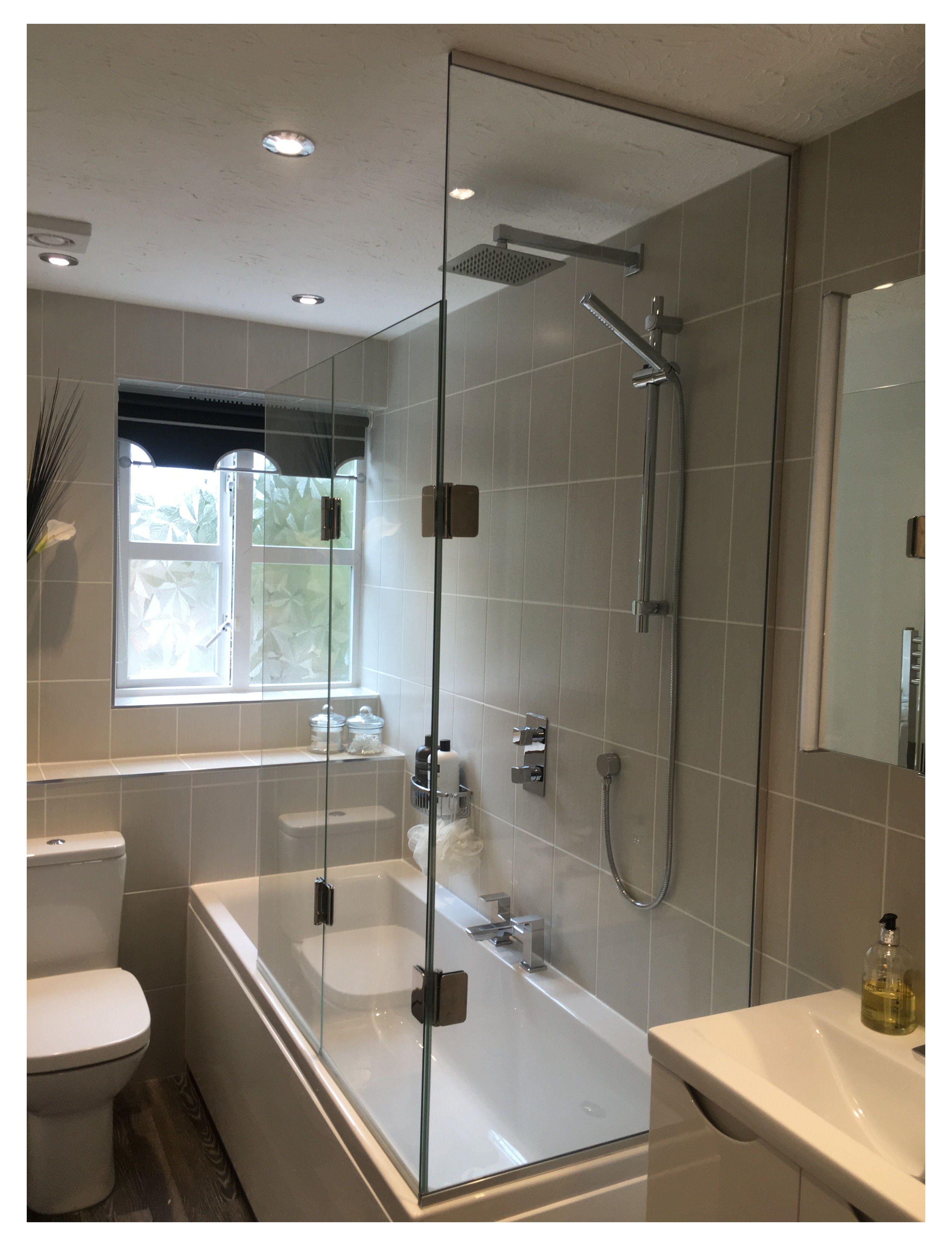 Bespoke Glass Custom Glass Specialists Windsor Glass360 Frameless Bespoke Glass Slough In 2020 Bathroom Remodel Shower Bath Shower Screens Bathroom Design Small