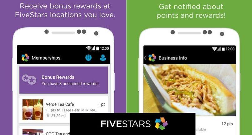 Fivestars App Track Customer Loyalty Without Punch Card Customer Loyalty Punch Cards Tea Cafe