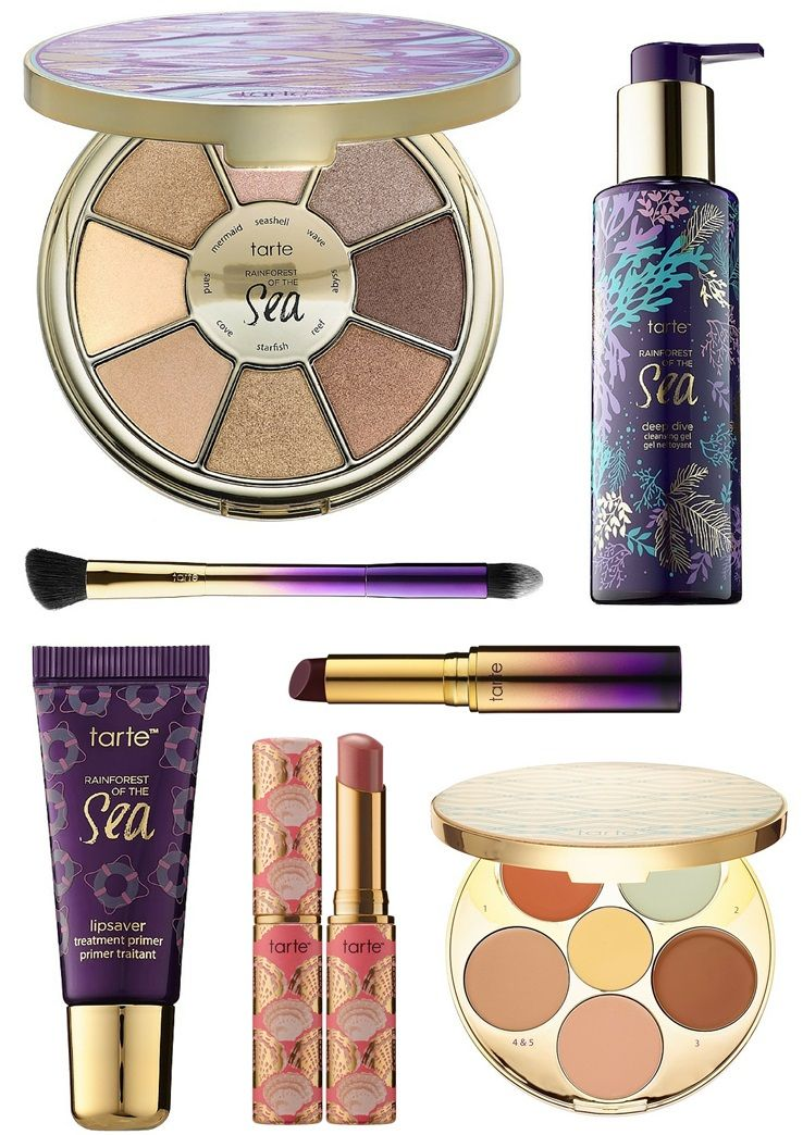 Tarte Makeup Brushes: Tarte Rainforest Of The Sea For Summer 2016