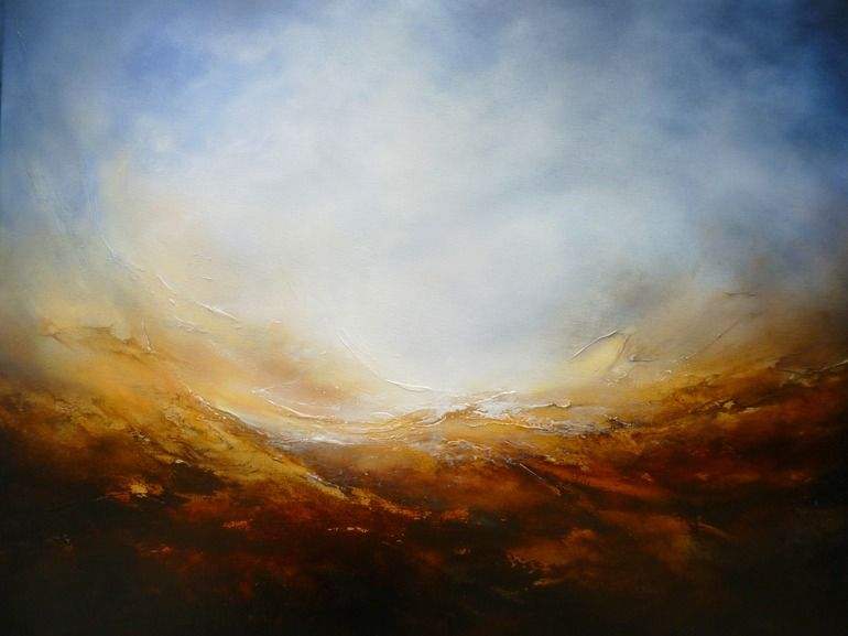 """Saatchi Online Artist: Simon Kenny; Oil, 2013, Painting """"To the Light"""""""