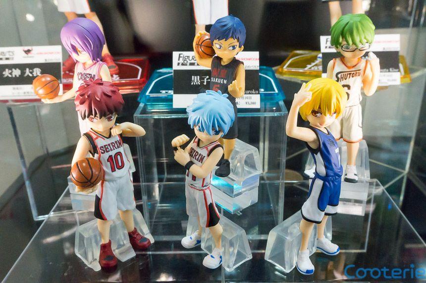 Kuroko no basket mini figures generation of miracles ver