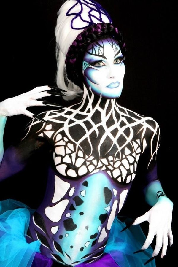 Pin En Maquillaje Artistico And Body Art