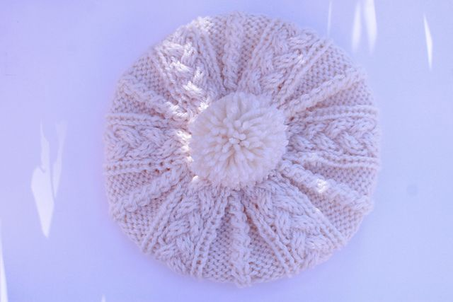 Ravelry: Project Gallery for Cable Pattern Hat pattern by Lion Brand Yarn