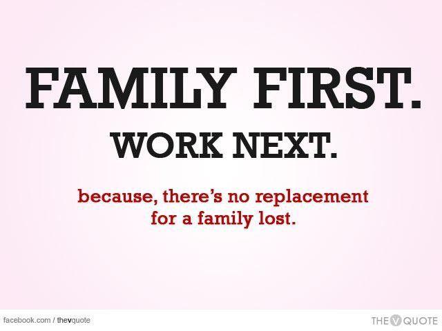 Family First Quotes | Family first quotes, Family quotes ...