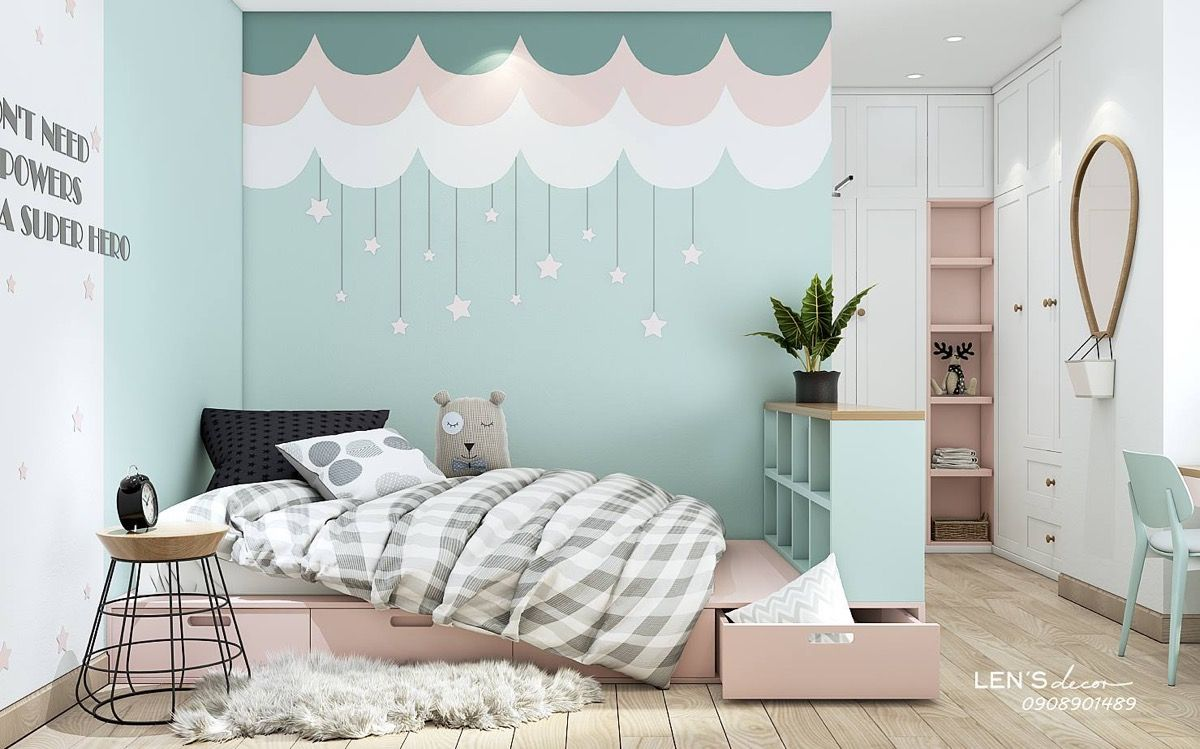 40 Awesome Kids Rooms That Use The Pastel Color Palette Girl Bedroom Decor Kid Room Decor Kids Bedrooms Colors