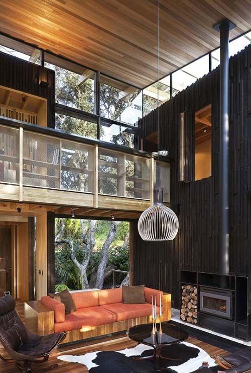 8 salones r sticos modernos para flipar decoracion - Salones rusticos modernos ...