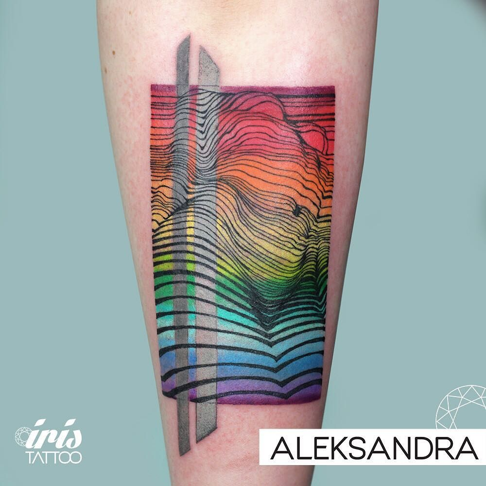 Iris tattoo studio on instagram tattoo by aleksandra