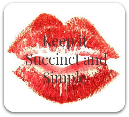 Impromptu Speaking Made Easier With Kiss  Keep It Succinct And