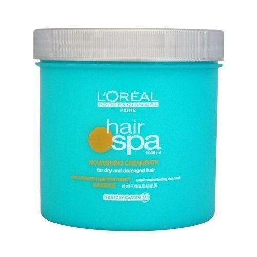 L'OREAL HAIR SPA NOURISHING CREAM BATH FOR DRY AND DAMAGED HAIR
