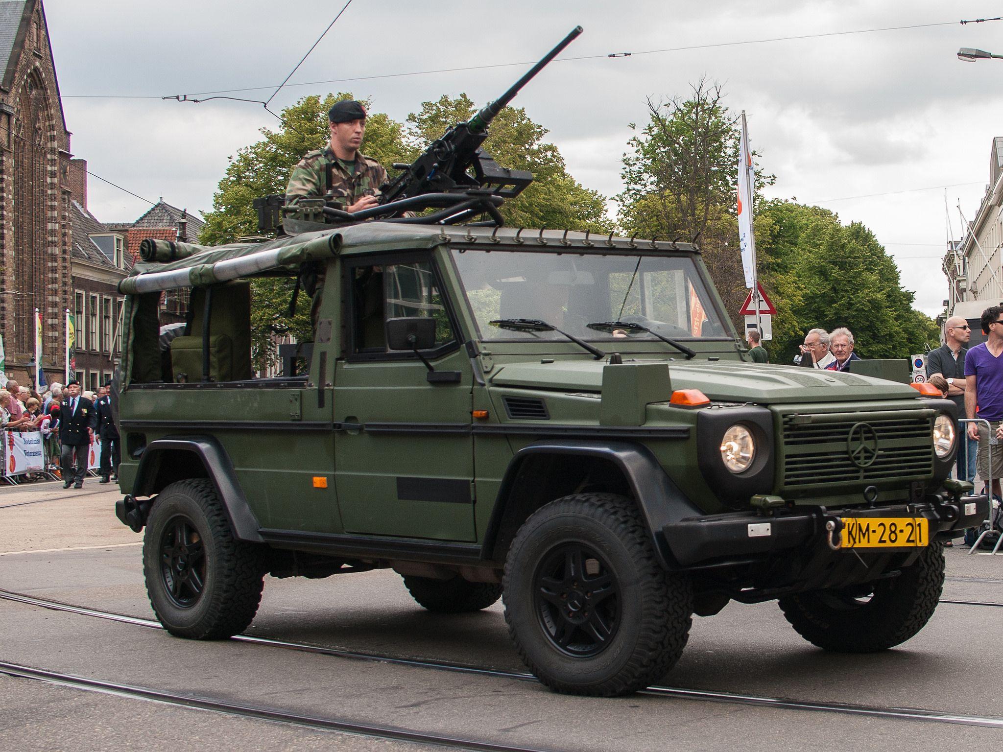 Mercedes Benz G Klasse Korps Mariniers Veteranendag 2012 Den