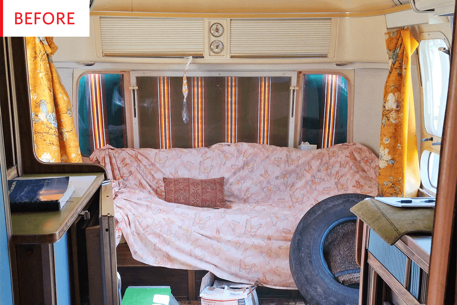 Before and After: A '70s Airstream Gets Saved from Shag Carpeting