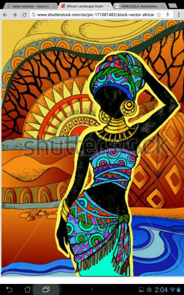 Abstractart Africanart With Images African Paintings