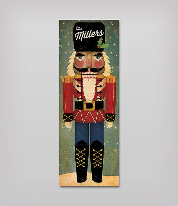 Nutcracker Nutcracker Stretched Canvas Wall Art Ready To Hang Etsy In 2020 Christmas Paintings On Canvas Christmas Canvas Christmas Paintings