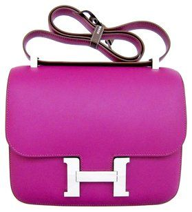Herms Anemone Constance Cross Body Bag
