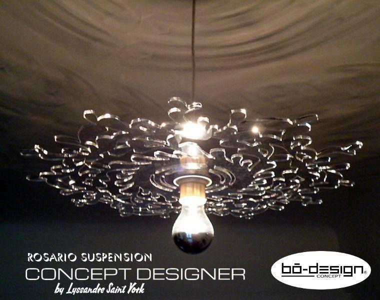 Volts Luminaire DesignModele 220 Suspension Rosario crystal XuOZPki
