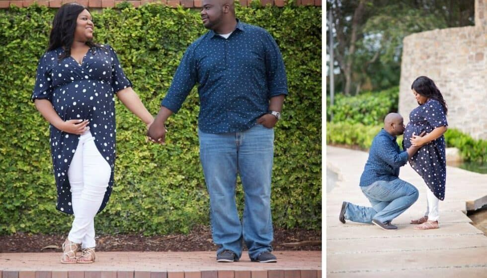 Photo of So many plus size women regret not taking maternity photos. I'm excited to share…