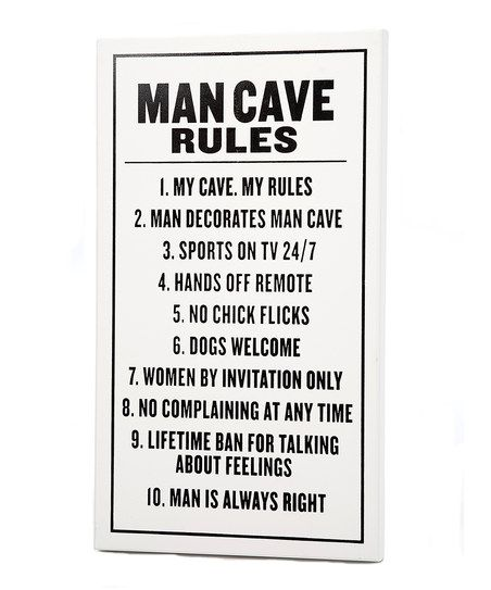Home Page Something Special Every Day Man Cave Rules Man Cave Rules Sign Man Cave