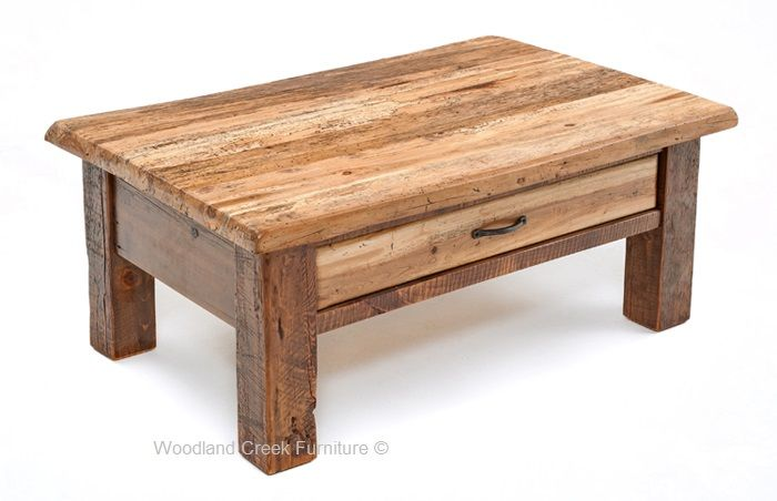 Living Room Coffee Tables Wood Lodge Style Ideas Tail Barn Projects Natural Brown