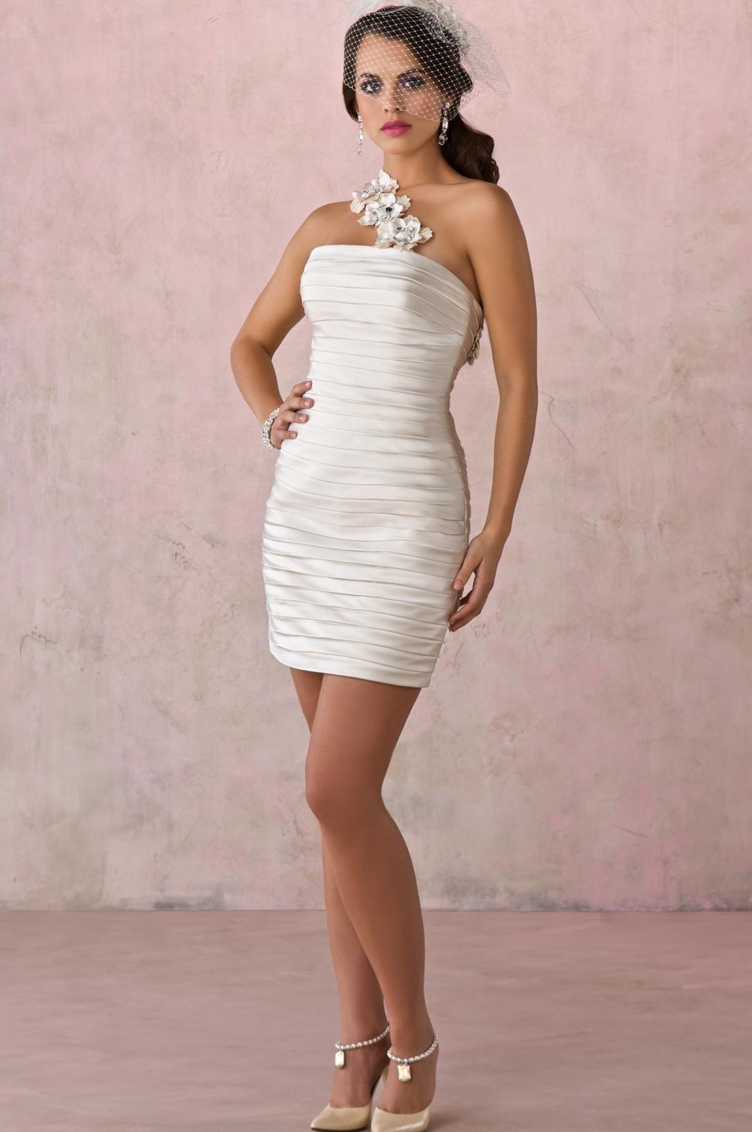 Short Style Cheap Wedding Dress Special Guest Dresses