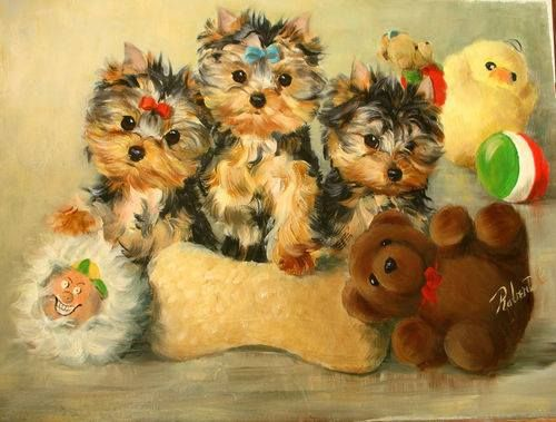 Pam S Picture On Facebook I Could Not Help It Soooo Cute Yorkie Terrier Yorkie Dog Art