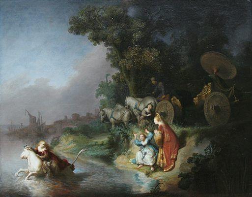 L'enlèvement d'Europe, par Rembrandt van Rijn